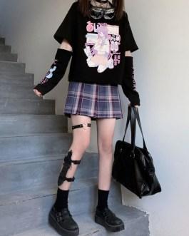 Japanese Anime T Shirt Long Sleeve Cotton Tshirt