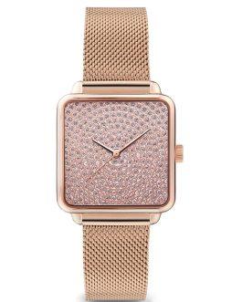 Luxury Square Quartz Bracelet Wrist Watches