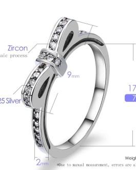 Butterfly Crystal Sweet Rhinestone Ring