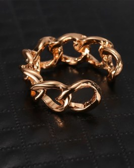 Chain Rings Trendy Unisex Vintage Gothic Chunky Ring