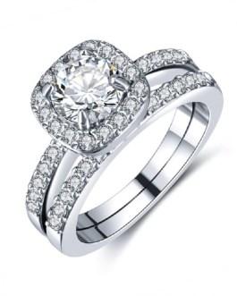 Crystal Cubic Zirconia Ring