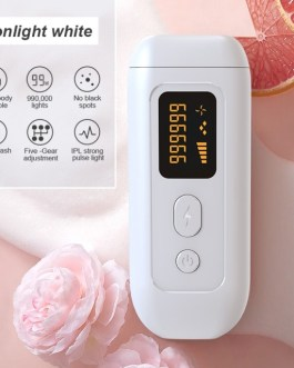 EU Plug Laser Epilator Flash Display Painless Bikini Epilator Machine