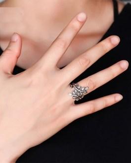 Fashion Classic Vintage Leaf Ring