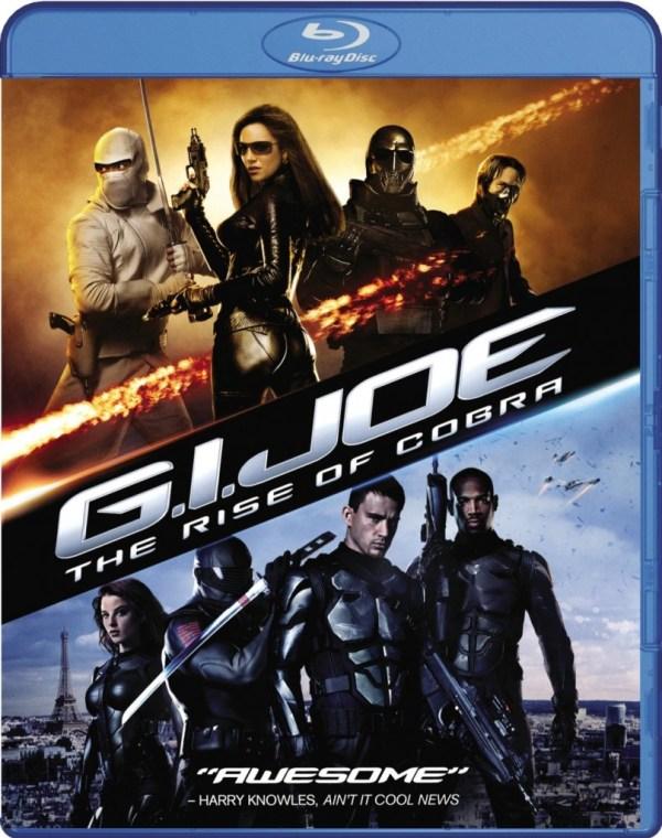 gi jo rise of cobras blu ray