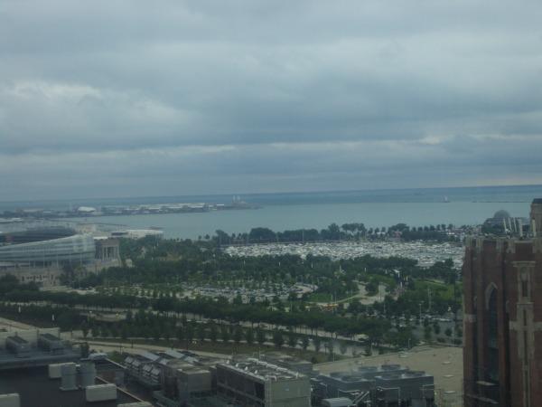 Chicago Hyatt water view