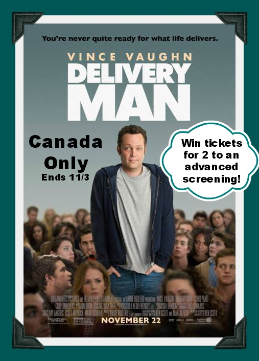 DELIVERY MAN button