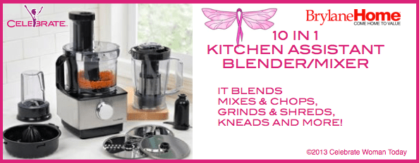 Kitchen Assistant Blender