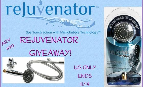 rejuvenator showerhead