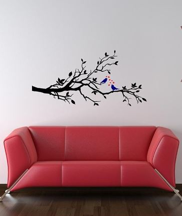 birds on a branch