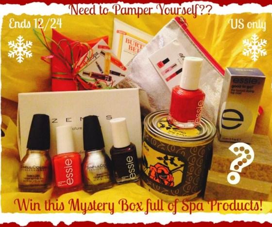 spa mystery box