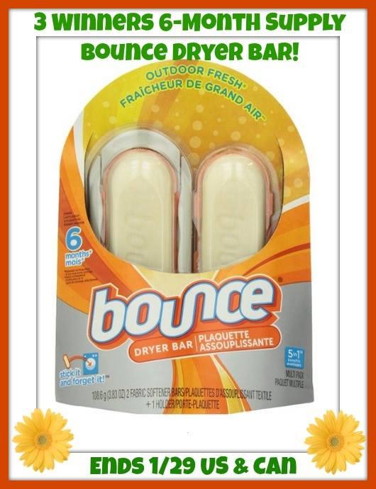 Bounce Dryer Bars
