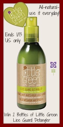 little green lice guard detangler