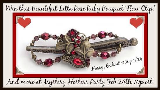 ruby bouquet flexi button