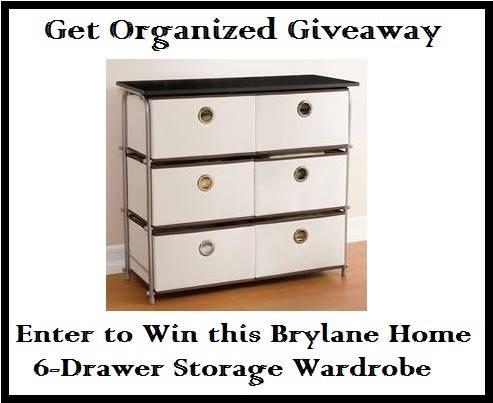 6 drawer organizer