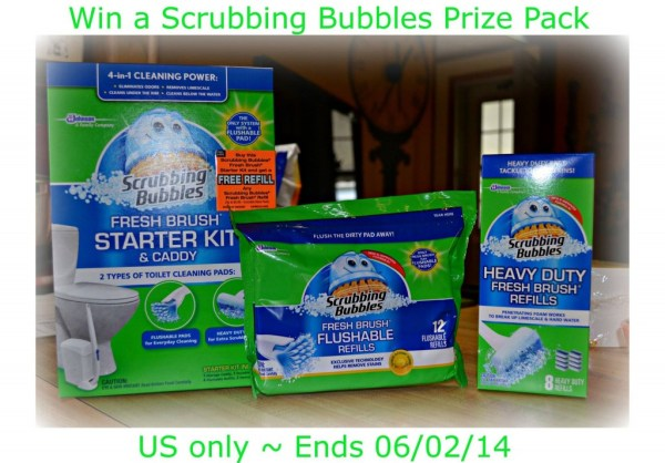 scrubbing bubbles prize pack