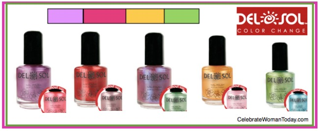 Del Sol Nail Polish Giveaway! - Powered By Mom