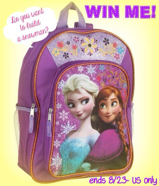 frozen backpack