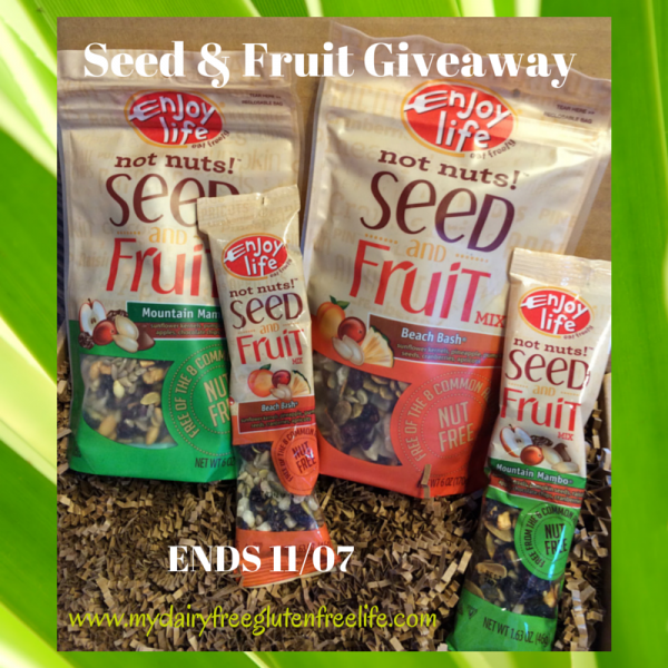 seeds and fruit giveaway