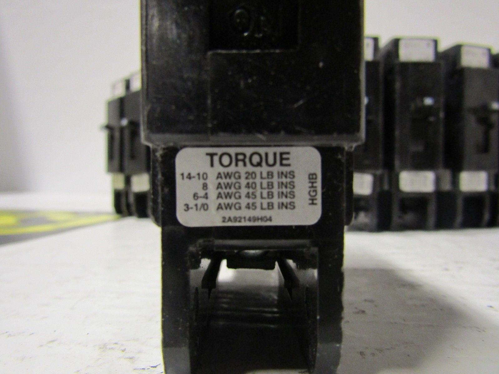 Nfj631125 Fpe 3 Pole 125 Amp 600 Volt Circuit Breaker Ebay