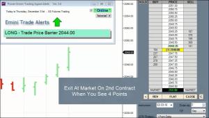 Power E-Mini Alert Software Live Action Video
