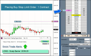 Power Emini Scalp Trades Video