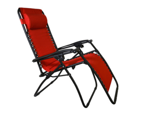 Red Sarasota Breeze Zero Gravity Chair