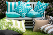pillow for patio area