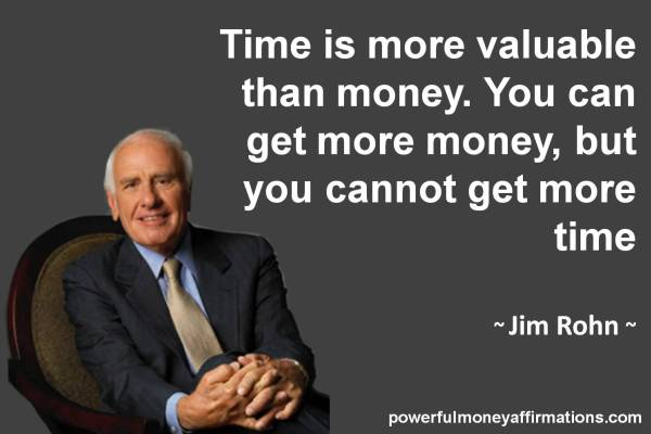 "Money ""Time Financial Freedom"