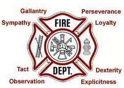 The Maltese Cross is the badge of a firefighter. It is a badge of honor and a symbol of protection and its story is hundreds of years old. When you compare its shape with the shape of the individual flowerlets on the perennial plant, you'll understand how the perennial got its name.
