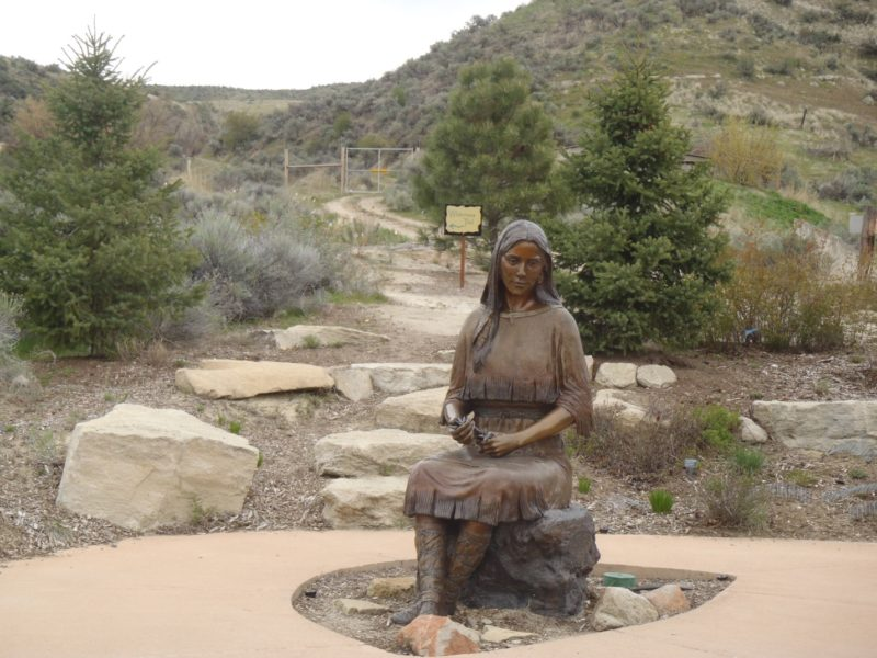 Sacajawea native garden Boise Idaho