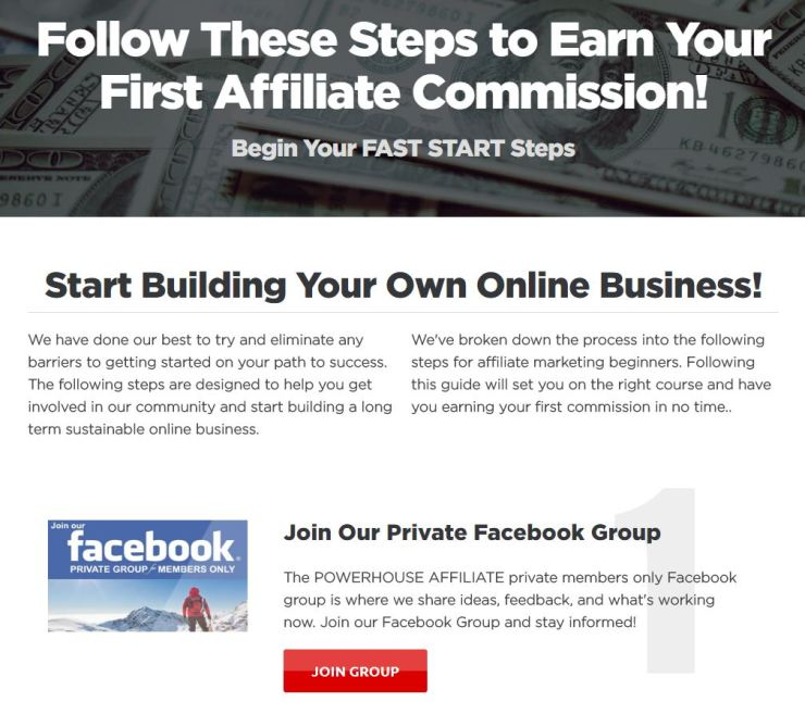 Earn Your First Affiliate Commission!