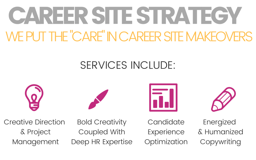 HR career site makeovers