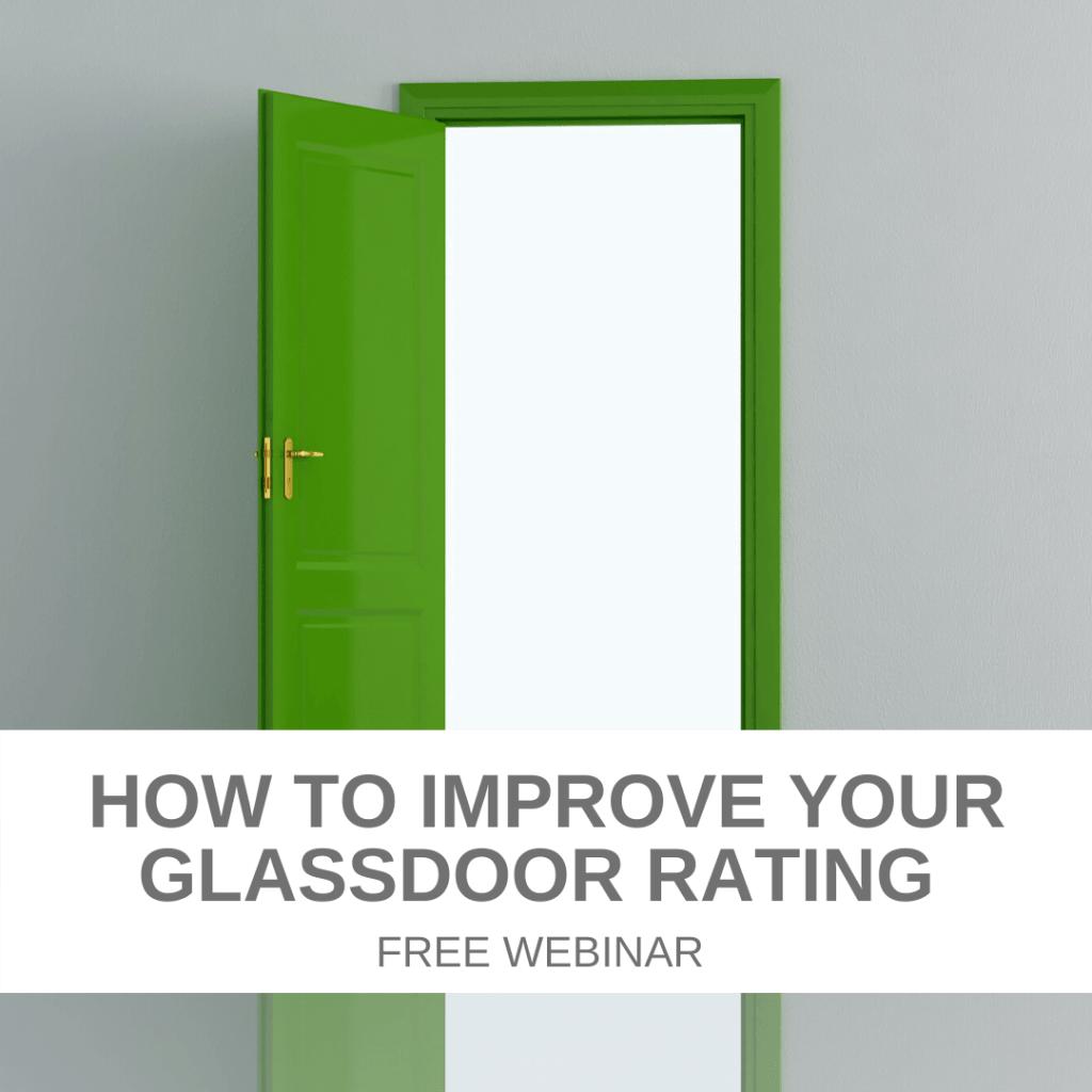 How to improve your Glassdoor rating - free webinar