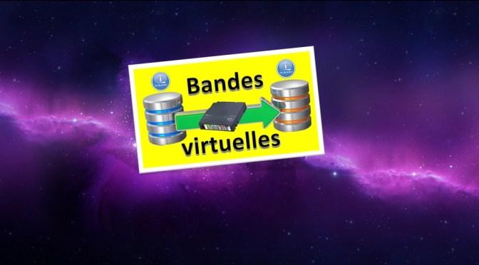 Transférer une bande virtuelle entre partitions IBM i