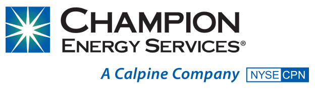 Champion Energy Services Calpine