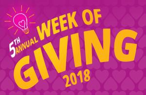 Champion Energy Week of Giving 2018 logo