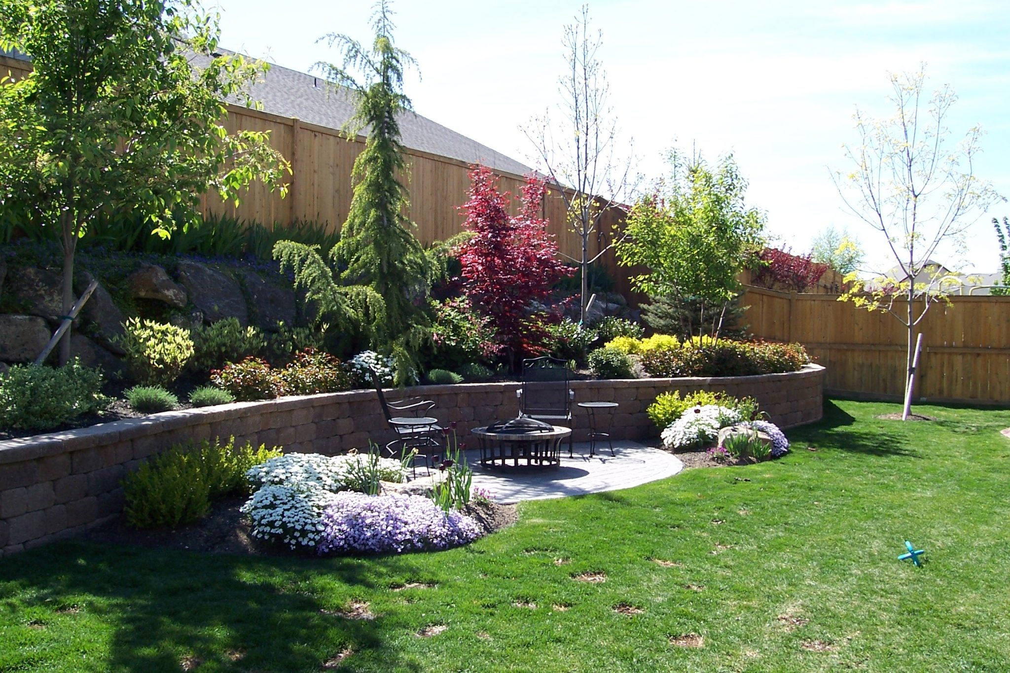 Boise backyard landscaping
