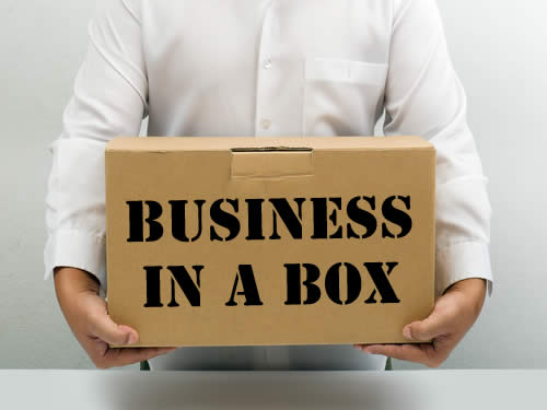 Business in a Box System highlights the Power Lead System