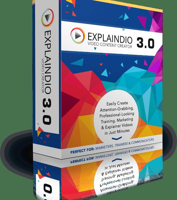 Explaindio 3.0 Released Today. Love this Program.