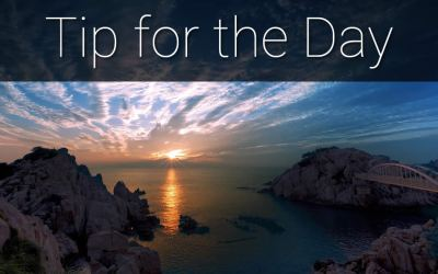 Tip of the Day – About Your Business
