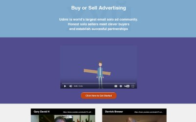 Udimi a Good Resource for Traffic / Solo Ads