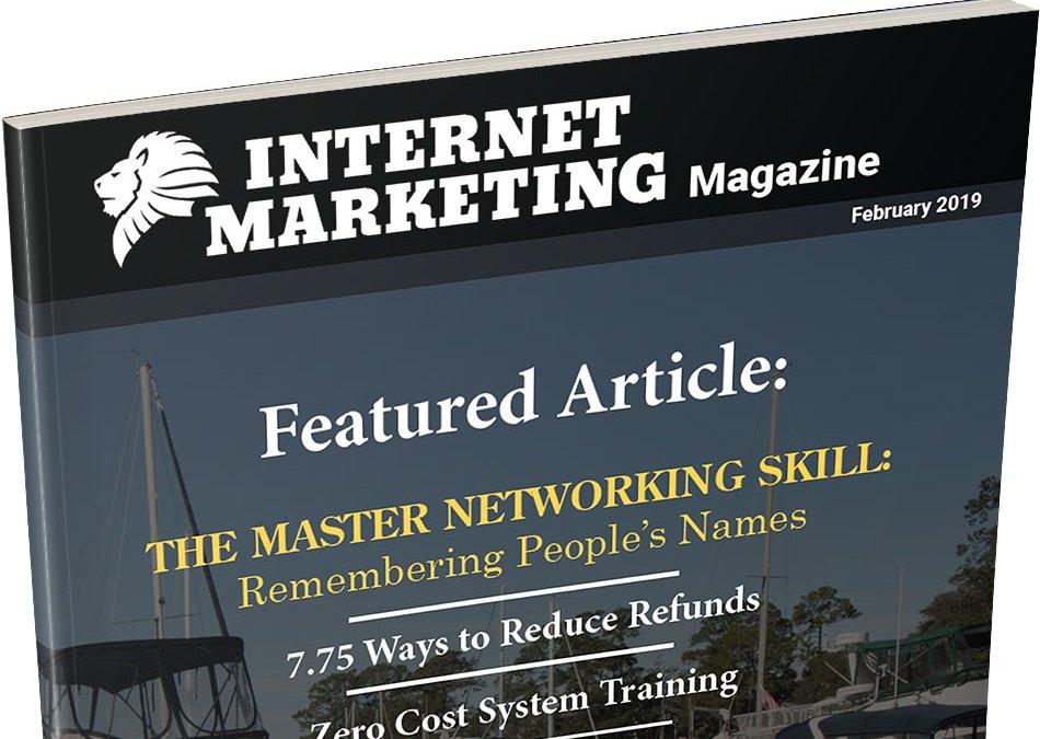 February 2019 – Internet Marketing Magazine