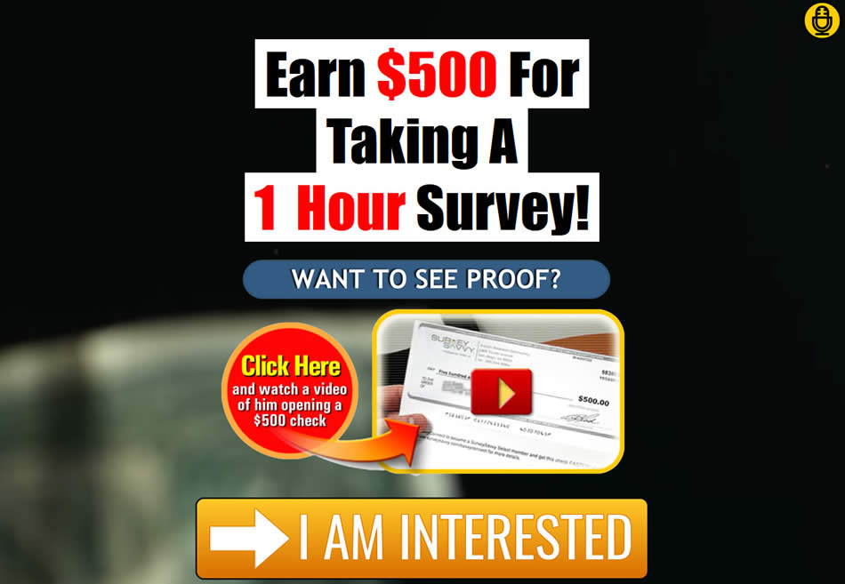"""New share code for the Power Lead System highlighting """"Take Surveys for Cash"""""""