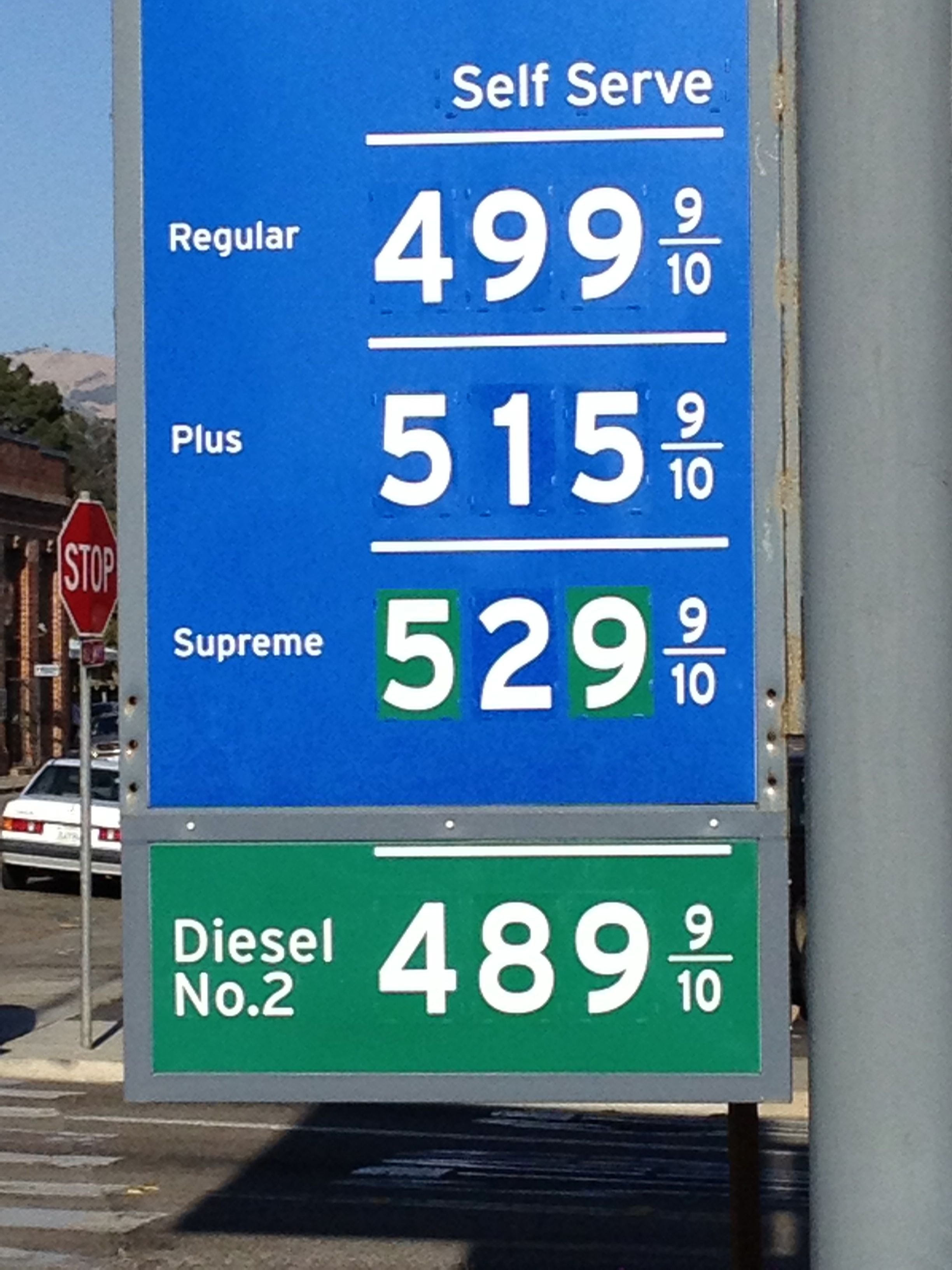 Gas Prices In California >> California Gas Power Line