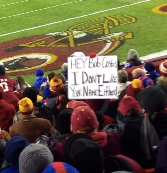 Redskins sign copy