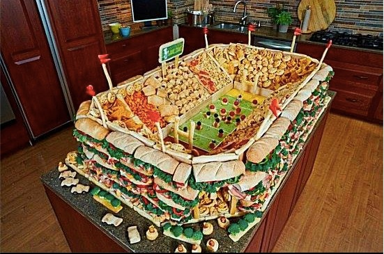 Got my Super Bowl spread ready.
