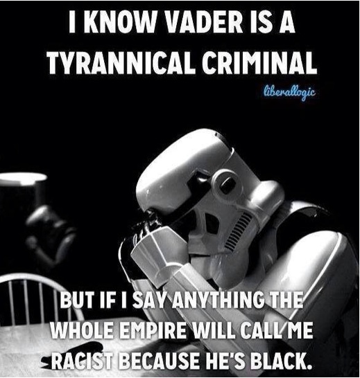 Vader Racist copy
