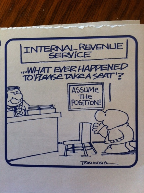 IRS position
