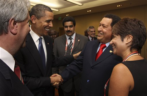 Barack Obama , Hugo Chavez