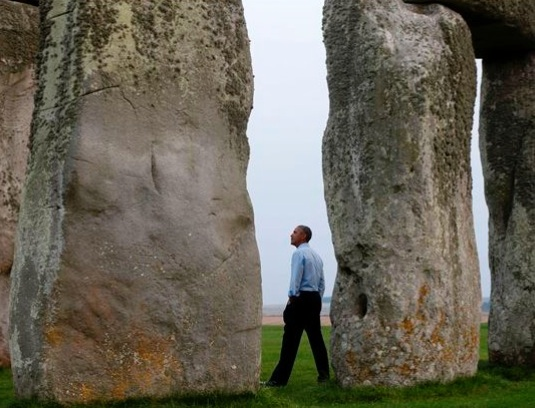 Obama stonehenge copy